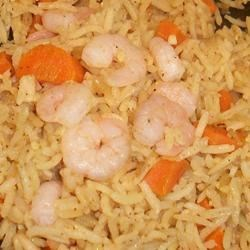 Curry Shrimp & Rice