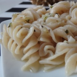 Simple seasoned pasta recipe