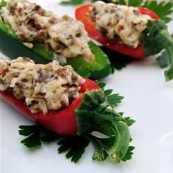 Kickin Stuffed Peppers