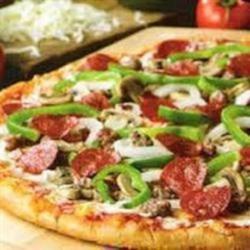 Italian Pizza Crust in Bread Machine Recipe - This recipe for Italian-style pizza crust is a snap, thanks to a bread machine!