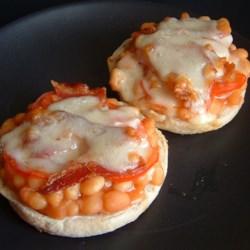 Baked Bean Sandwiches