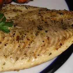 Sesame Tilapia Recipe - Sesame oil and Italian seasoning are the perfect flavors for tender tilapia.
