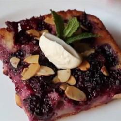 Chef John's Blackberry Buckle Recipe - Chef John's classic recipe for blackberry buckle is the perfect rustic summer dessert for the hot summer months.