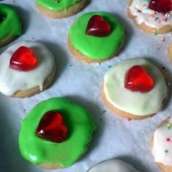 Frosted Butter Cookies