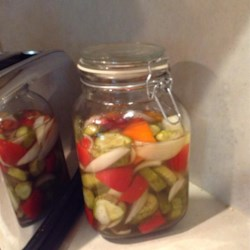 Aunt Rose's Refrigerator Pickles
