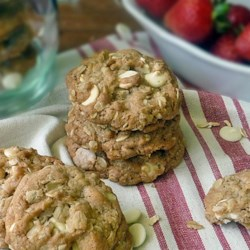 Strawberry Cinnamon Oatmeal Cookies