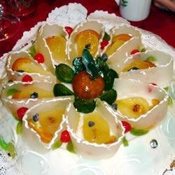Cassata alla Siciliana (Sicilian Cream Tart) Recipe - A beautiful sponge layer cake filled with a delightful ricotta cheese filling.