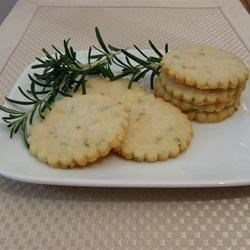 Rosemary Shortbread Cookies