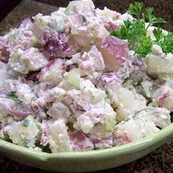 True-Blue Potato Salad