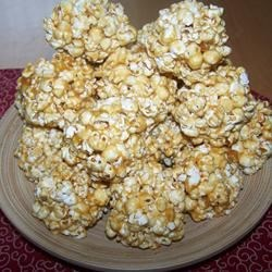 Popcorn Balls from Grandpa's Recipe