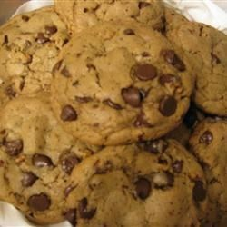 ABC (Absolute Best Chewy) Chocolate Chippers Recipe - This recipe is for when you want rich, chewy chocolate chip cookies chock-full of chocolate chips and toasted nuts.  I am happy to share my recipe with other chocolate chip cookie connoisseurs--visitors to this great website!  I guarantee professional bakery results if you follow this recipe as written.  Keep in mind, however, that each specific ingredient and step is important to ensure best results.  Many test batches were conducted in order to perfect this chewy recipe for a cookie you can really sink your teeth into.  If these cookies don't comfort you and make you happy (er, 'chipper'), I don't know what will!  Enjoy!