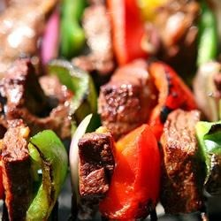 Kabob Marinade Recipe - This is a tasty, easy to make marinade that is great for any grilled meat. It makes enough for about two pounds of uncooked meat. Hunters - try this on your deer.