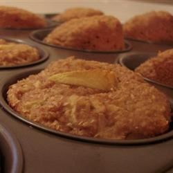 Apple Bran Muffins Recipe - Tasty and fast apple muffins. They are great for a breakfast treat!