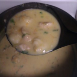 Cream of Chicken and Gnocchi Soup Recipe - Cream of chicken and gnocchi soup just like the famous Italian restaurant chain's soup can be made right in your own home with this simple recipe.