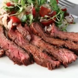 Marsala Marinated Skirt Steak Recipe - Chef John's recipe for Marsala wine-marinated skirt steak truly shines as delicious proof that skirt steak is always fabulous on the grill.