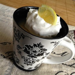 Lemon Cake in a Mug Recipe - Lemon cake in a mug topped with a simple lemon sauce is ready in minutes for a quick snack or dessert.