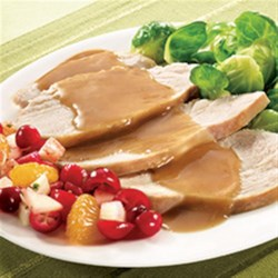Turkey Gravy from McCormick(R) Recipe - Serve savory gluten-free turkey gravy over roasted turkey or mashed potatoes.
