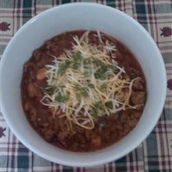 MarshMan's Lean Crock Pot Chili