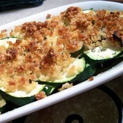 Baked Zucchini de Provence