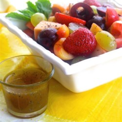 Honey Dressing with Poppy Seeds Recipe - This honey dressing with poppy seeds is a sweet way to dress up a fruit salad or a simple green salad.