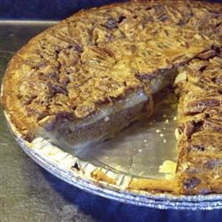 Pumpkin Pecan Pie I Recipe - Here's a combination of holiday favorites!
