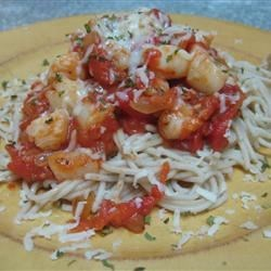 Shrimp, Clams, and Scallops Pasta