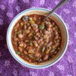 Vegan Chunky Chili