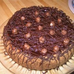 Heavenly Hazelnut Chocolate Cheesecake
