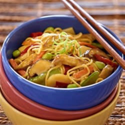 Imperial Vegetables and Noodles Recipe - Takeout-worthy stir-fry is only minutes from the table with Asian-inspired vegetables and Veggie Chick'n Tenders.