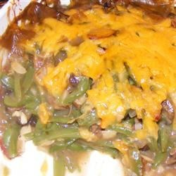 Green Bean and Portobello Mushroom Casserole