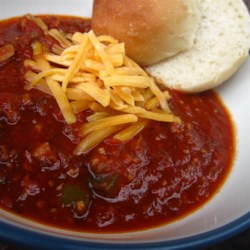 Mr. Bill's New Mexico Buffalo Chili Recipe - This hot, spicy, complex New Mexico-style buffalo, chorizo, and pork chili will have you howling like a desert coyote. The meat marinates in dry seasoning overnight, so you'll need to plan ahead.