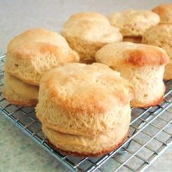 Easy Biscuits Recipe - This three-ingredient recipe gets biscuits on your table in a quick and easy manner for when you need biscuits now!