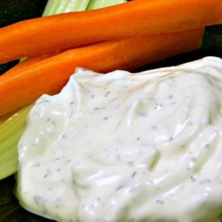 Mom's Dill Dip Recipe - There is no better way to eat veggies than with this delightful dill dip made with sour cream, green onions, and dried dill.