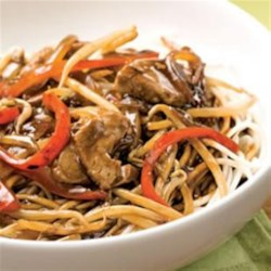 Pork Chop Suey from EatingWell Recipe - This chop suey recipe is an easy way to enjoy a Chinese restaurant favorite healthier at home.