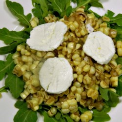Corn Salad with Arugula
