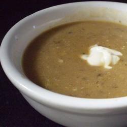 Purreed Veggie Soup
