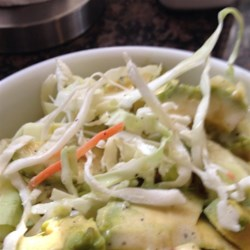 Puerto Rican Cabbage, Avocado, and Carrot Salad Recipe - This cabbage, avocado, and carrot salad is a refreshing side dish to Puerto Rican-inspired meals.