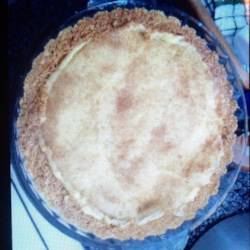 South African Instant Milk Tart Recipe - South African instant milk tart is made with a graham cracker crust and a milky filling for a delicious and not-too-sweet dessert.