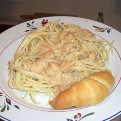 Creamy Cajun Shrimp Pasta Recipe - Easy, elegant, spicy and only needs a salad to go with it.  If needed, reduce Cajun spice to taste.