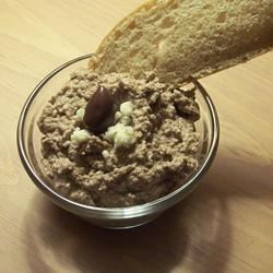 Kalamata Caviar Recipe - Spread this fast, easy olive, cheese and nut mixture on slices of warm French bread. The combination of distinct flavors is magnificent!