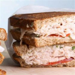Turkey and Tomato Panini Recipe - Turn a plain sandwich dinner into something special by preparing it panini-style (which doesn't, by the way, require a fancy panini maker).