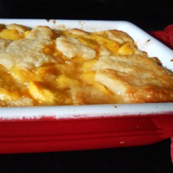 Chef John's Peach Cobbler Recipe and Video - This fabulous peach cobbler works just as well with canned peaches!