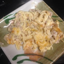 Turkey Tetrazzini Recipe - This is a great recipe for leftover turkey.  Even those who say they don't like turkey will eat this.  May be assembled in advance and frozen: heat covered dish at 350 degrees F (175 degrees C) for 1 1/2 hours.