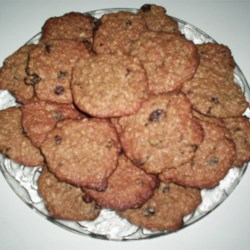Raisin Peanut Butter Bran Cookies Recipe - These are a mouthful to say and a mouthful to eat!