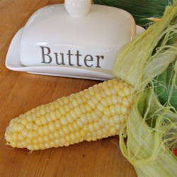 Microwave Corn-on-the-Cob in the Husk Recipe - It doesn't get easier than this: 1 ear of corn, 1 microwave, and a couple paper towels to make sweet, crunchy corn on the cob every time!