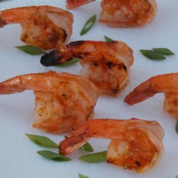 Easy Grilled Spicy Shrimp Recipe - This recipe delivers a spicy shrimp appetizer from your grill to your summertime table in just minutes.