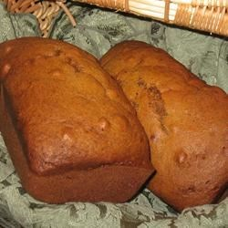 Not Your Mother's Pumpkin Bread
