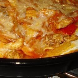 Cottage Cheese Chicken Enchiladas