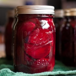 Pickled Beets Recipe and Video - This recipe was given to me many years ago by an elderly farmers wife and has been one of my 'must do' yearly canning recipes.  If you have a large amount of beets, just keep repeating brine until your beets are all gone! Enjoy!