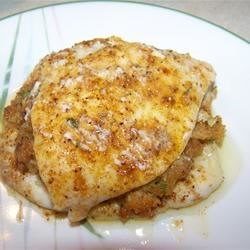 Brian's Easy Stuffed Flounder Recipe - Easy to make and bake stuffed whole flounder. This tastes great and looks beautiful.